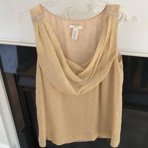 J.Crew sleeveless blouse